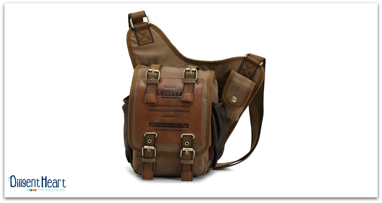 Christmas Gift Ideas for your Husband Vintage Messenger Bag