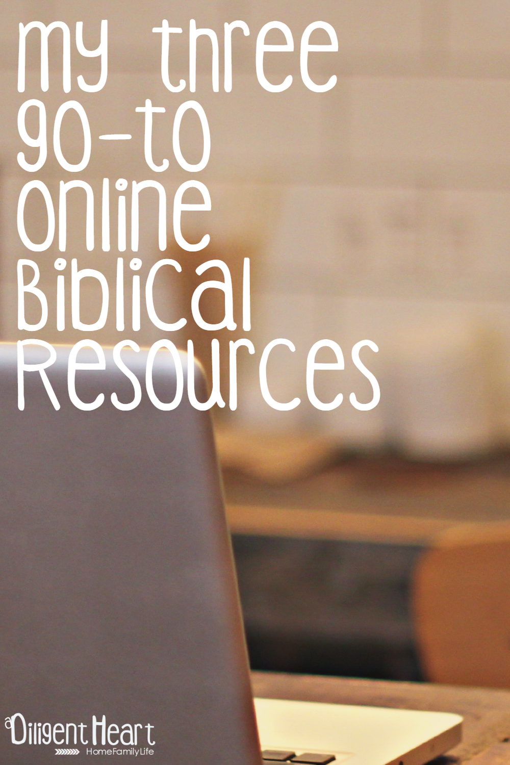 Most of us have our go-to places for our most common daily needs. My primary go-to place for anything scripture is of course my Bible. But, I have found some wonderful online resources for anything scripture related that I am just loving! My three go-to Online Biblical Resources | adiligentheart.com