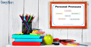 Free Printable ~ Personal Pronouns