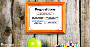 Free Printable ~ Prepositions