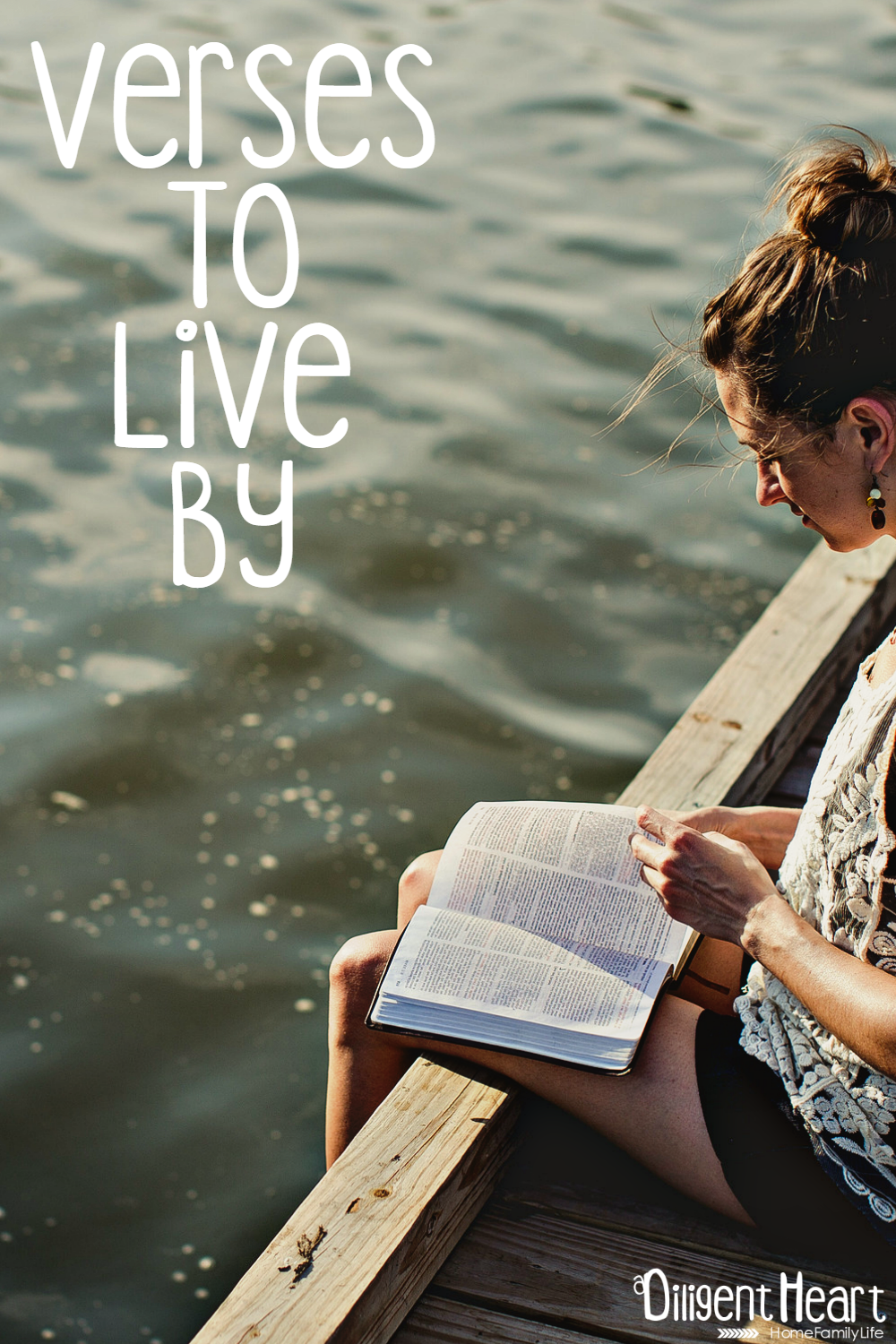 I think we are always naturally seeking guidelines to live after or aspire to. As a Christian, my inspiration and guide is the Bible. I've compiled some of my favorite verses to live by. Verses To Live By | adiligentheart.com