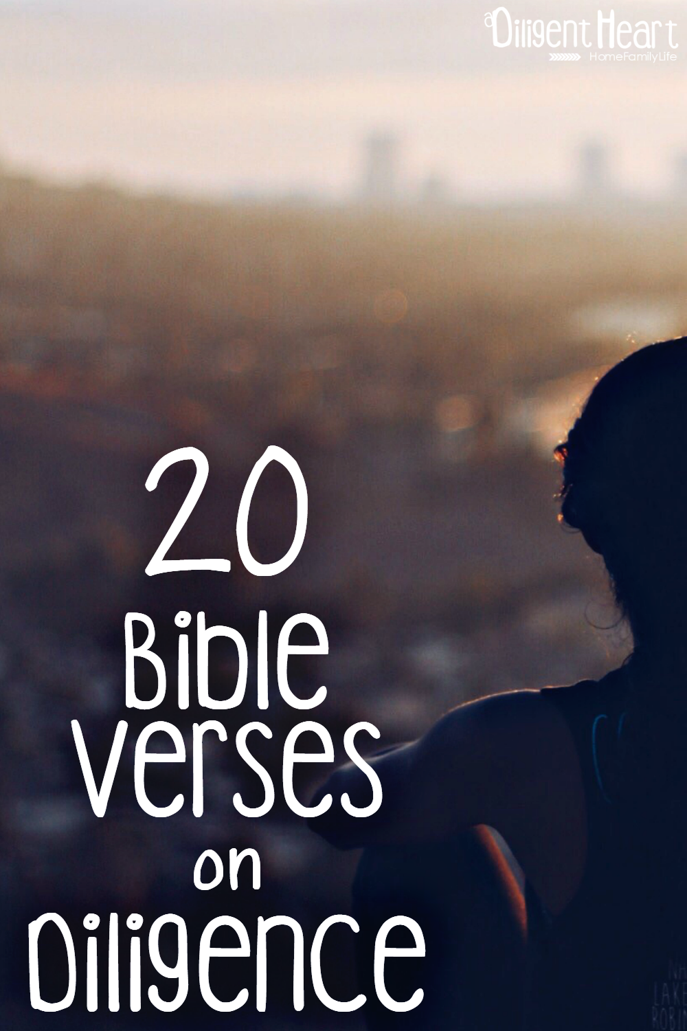 Diligence is a fundamental part of life, and we must be diligent in everything we do, so that we do it with purpose and not just with a fleeting robotic attitude. These verses are a constant encouragement for me, I hope they are for you too. 20 Bible Verses on Diligence | adiligentheart.com