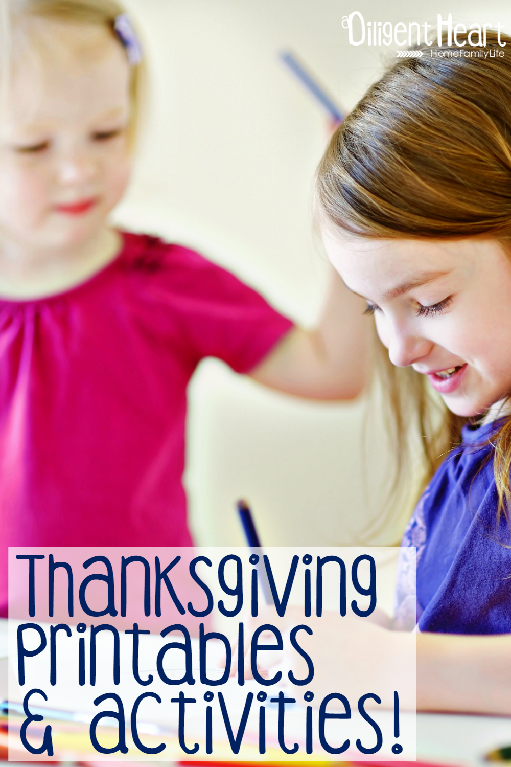 Thanksgiving Printables and Activities adiligentheart.com