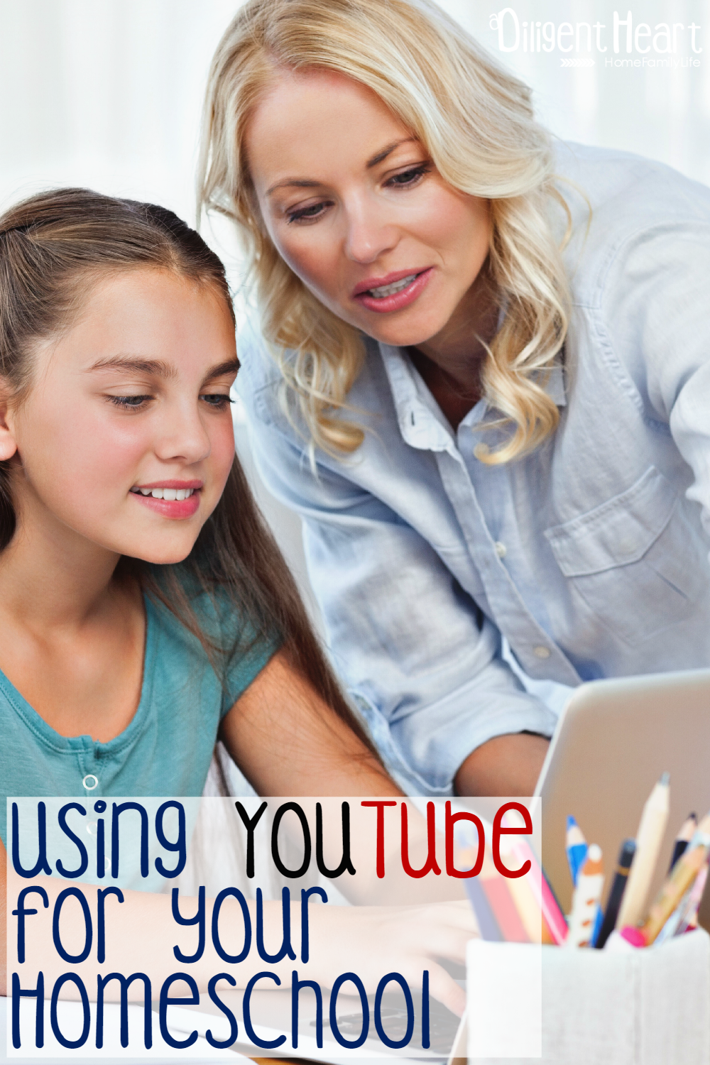 Are you usually on the look-out for creative and fun ways to enrich your children's learning experience? I know I am!. One of the best perks of homeschooling is that we don't have to stick to just the traditional textbook learning experience. In this post. I share some tips and a few resources to Using YouTube for your Homeschool. Using YouTube for Your Homeschool I adiligentheart.com