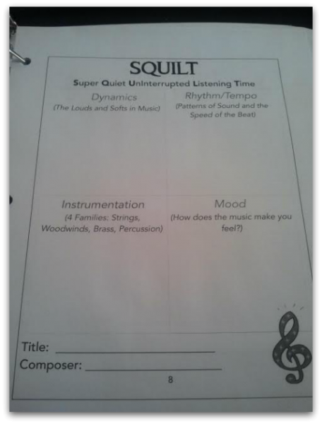 SQUILT Teaching Music in your Homeschool