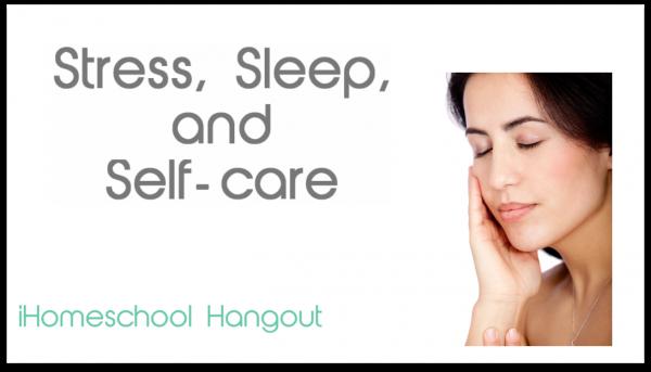 Stress, Sleep, and Self-care