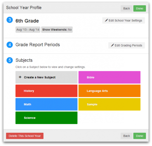 Lesson plans made easy with Lessontrek