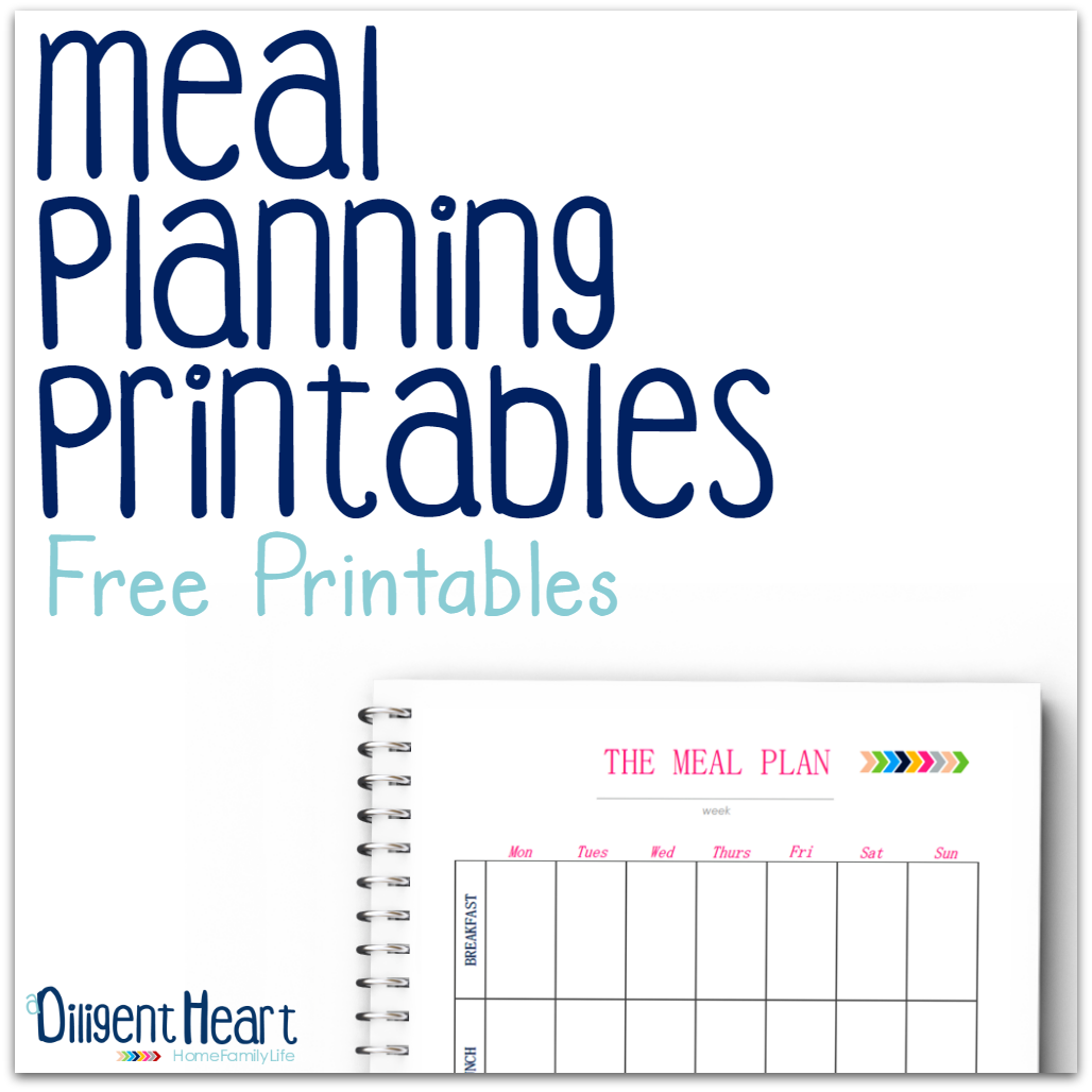 Looking for some sweet, clean, and easy-to-use meal planning pages? This printables will help you get a better hold of your meal planning sessions. With everything in one place, you'll be on top of your meal planning in no time! | adiligentherat.com