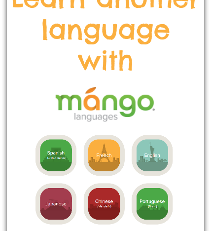 Learn another language with Mango Languages