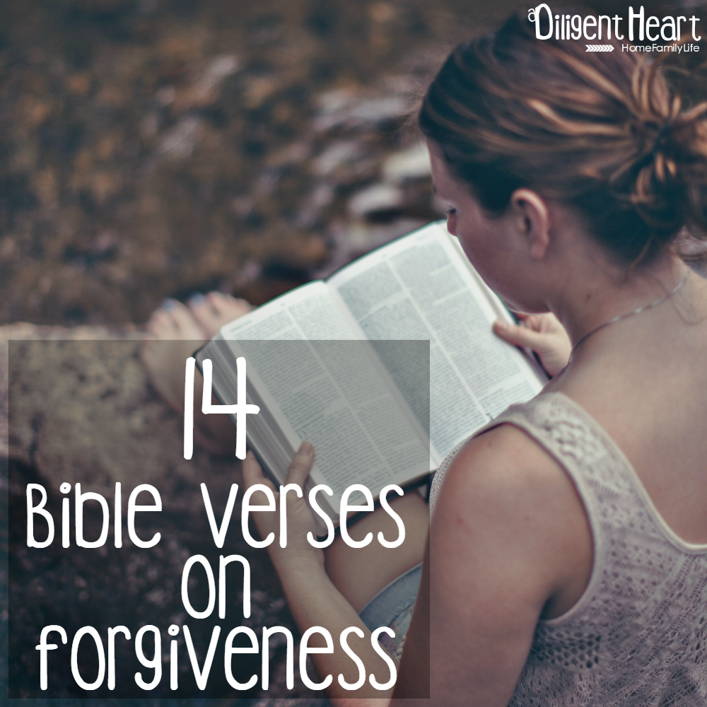 14 Bible Verses on Forgiveness 2