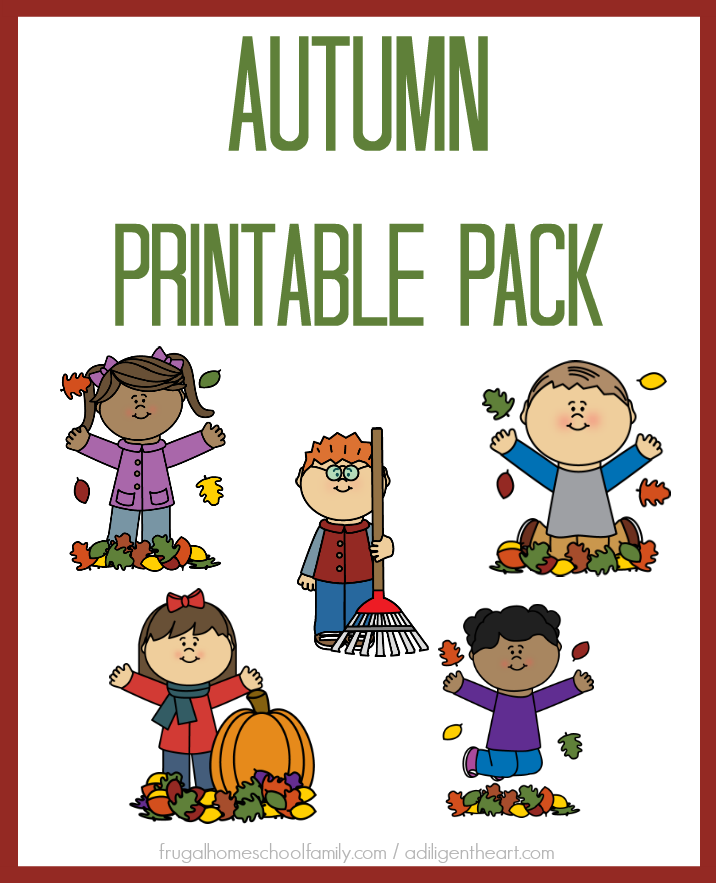 FREE Autumn Printable Pack