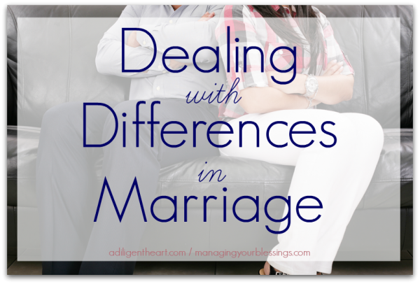 Dealing with Differences in Marriage