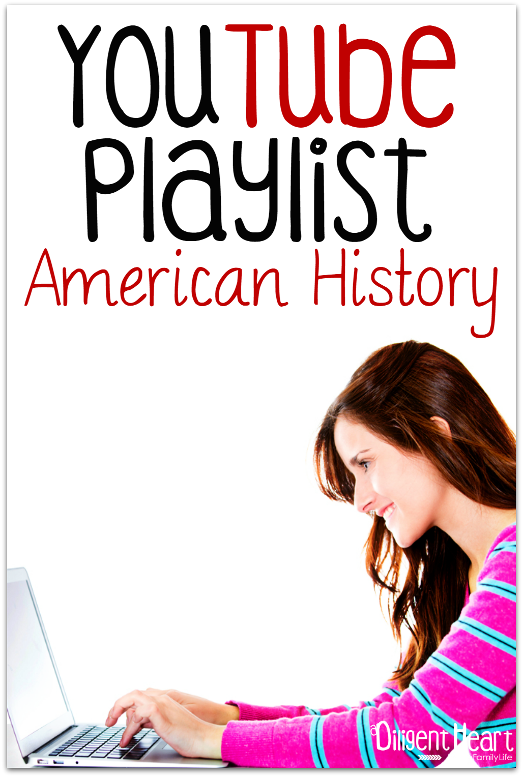 Studying American History in your Homeschool? Do you love using digital resources for your homeschool (or want to?). As we've worked through All American History I'm compiling videos to help supplement our studies. Come on over and check them out! YouTube Playlist I American History I adiligentheart.com