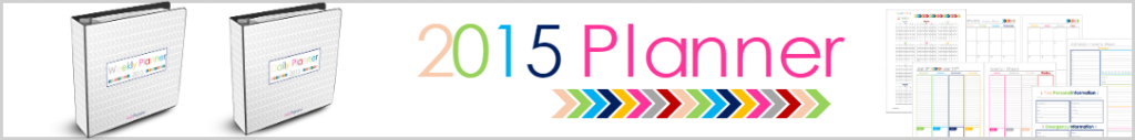 2015 Planner Banner