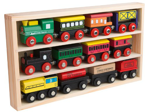 40 Wooden Toys for Toddler Boys I Engines & Trains Cars Collection I adiligentheart.com