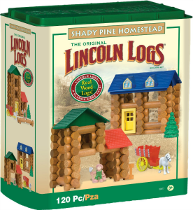 40 Wooden Toys for Toddler Boys I Lincoln Logs I adiligentheart.com