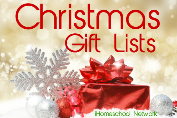 Christmas Gift Lists II iHomeschool Network