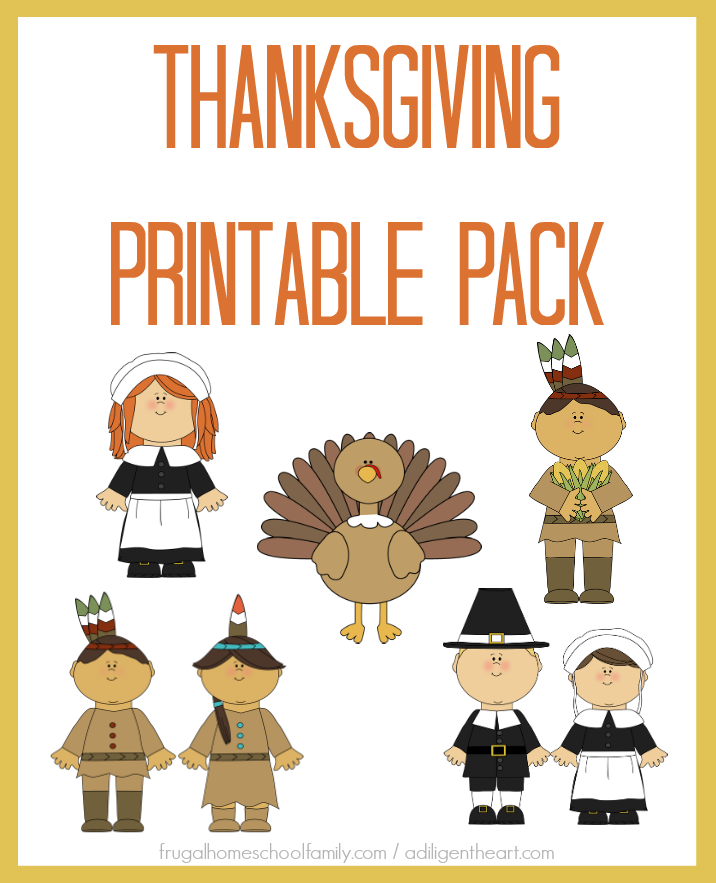 FREE Thanksgiving Printable Pack