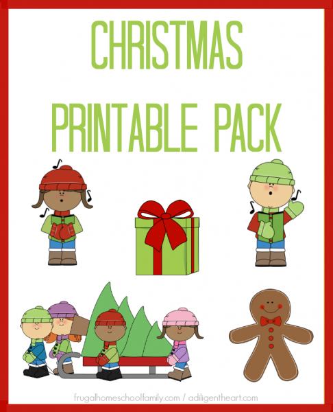 Christmas Printable Pack I adligentheart.com