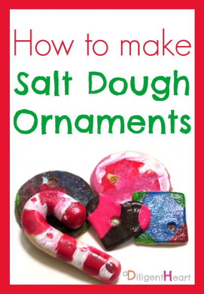 How To Make Sour Dough Christmas Decorations : Days of homemade christmas crafts a diligent heart