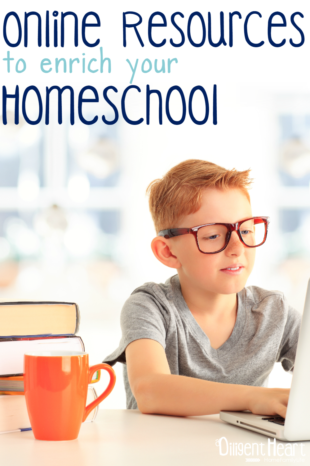 I'm a big fan of using online resources to enrich our homeschool. These are some of my favorite resources to use. We use them often, and some of them are used on a weekly basis. Online Resources to enrich your Homeschool I adiligentheart.com