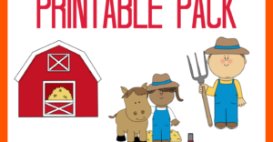 FREE The Farm Printable Pack