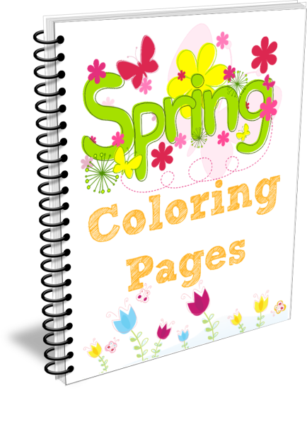Spring Coloring Pages Cover