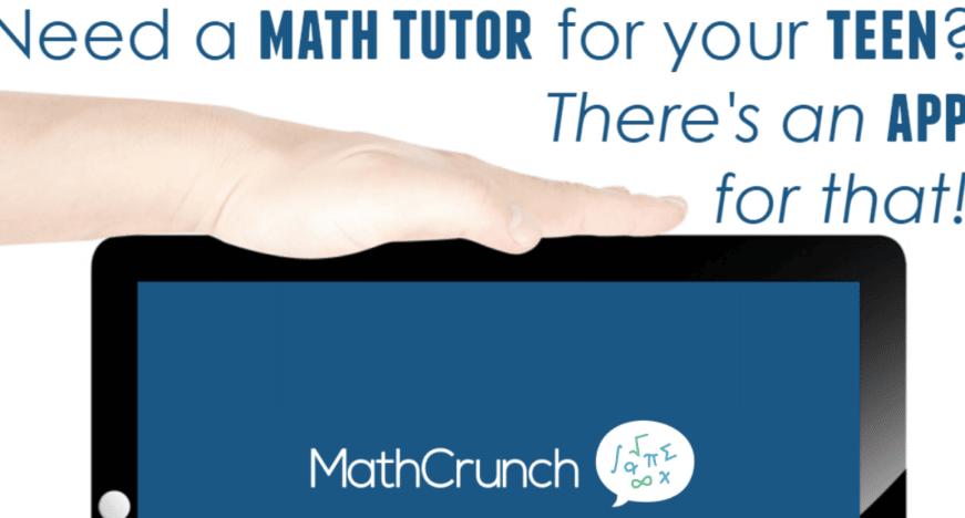 Math Tutor App: Middle School or High School