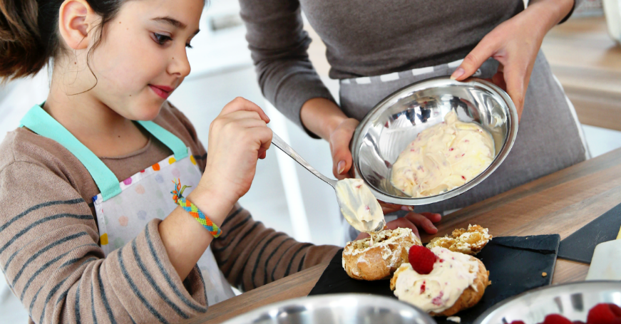 Top Tips For Mess-Free Cooking With Kids