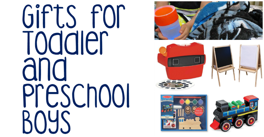 Gifts For Toddler and Preschool Boys