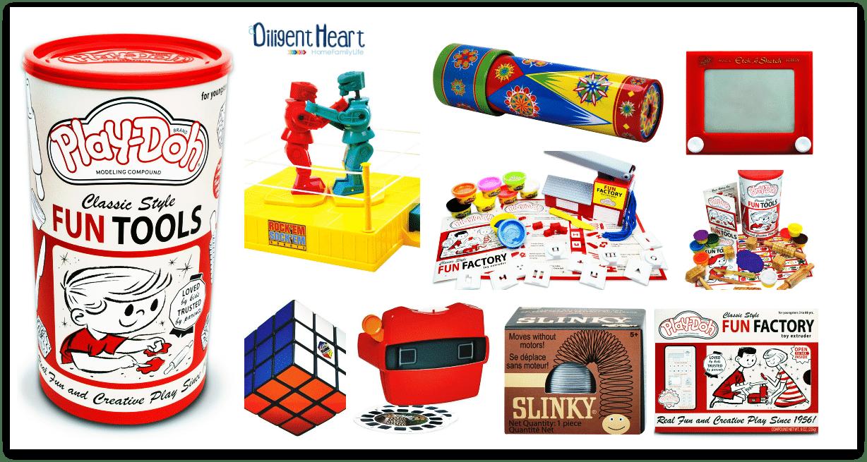 Retro Toys adiligentheart.com