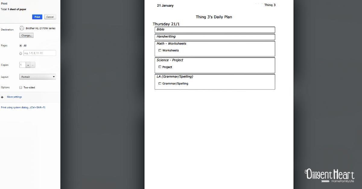 5 Print Planner Homeschool Planning with Homeschool Planet