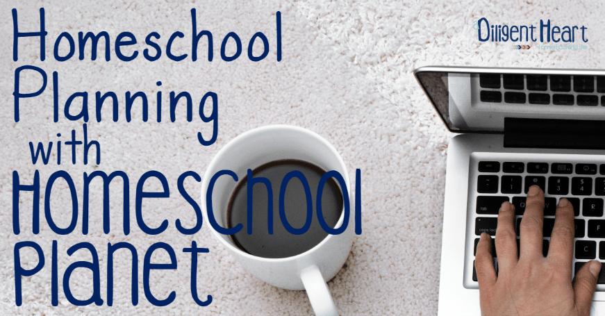 Homeschool Planning With Homeschool Planet