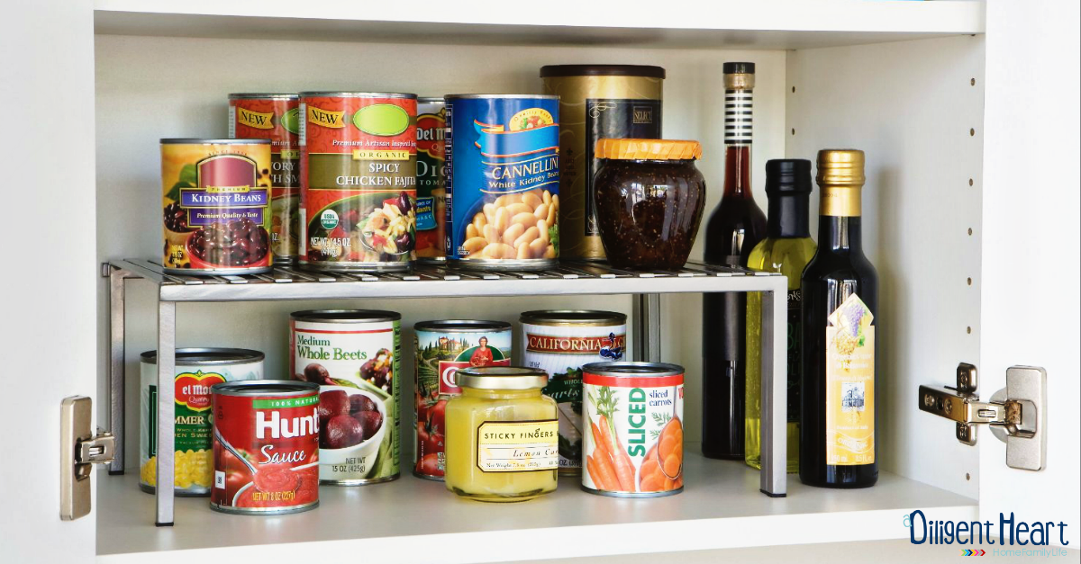 FB Image Tips to organizing a small pantry 1