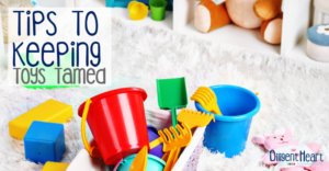 Tips To Keeping Toys Tamed