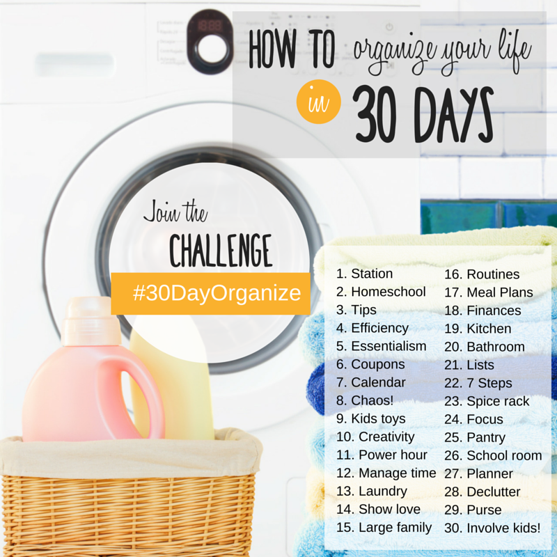 How to organize your life in 30 days- Instagram (1)