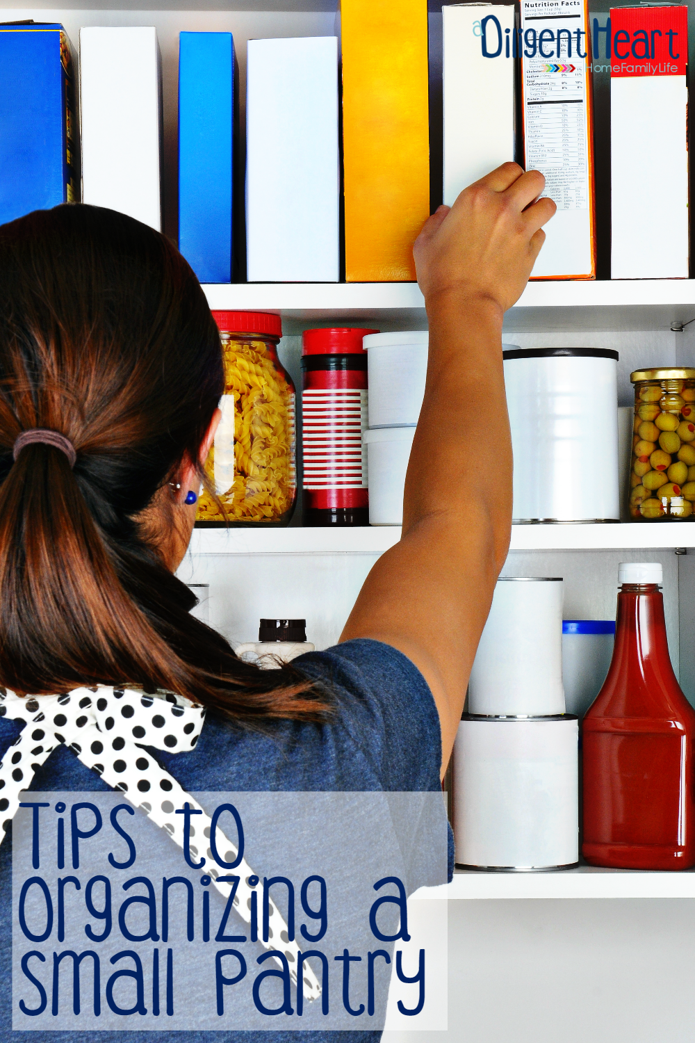Have a small pantry in your home? Struggling with how to keep it organized, stocked, and keep tabs on everything you do have? Keep reading for some tips on how to do all of this in any small pantry.