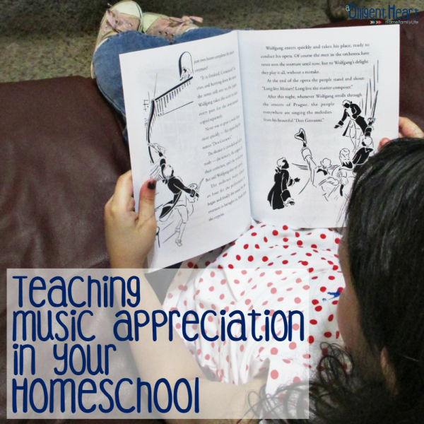 Teaching  Music Appreciation in your  Homeschool sq