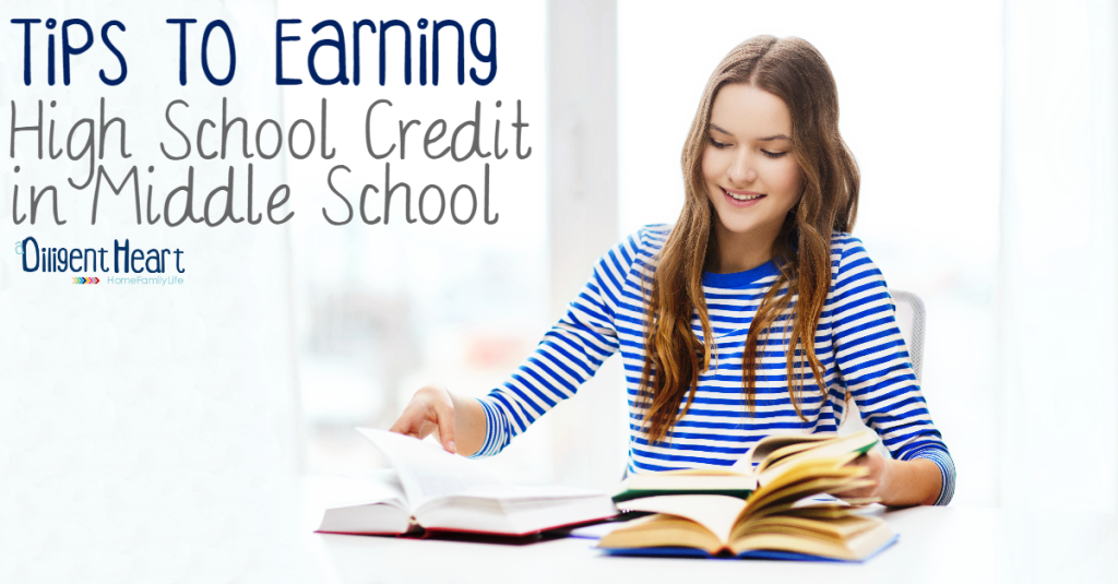 FB Tips To Earning High School Credit in Middle School