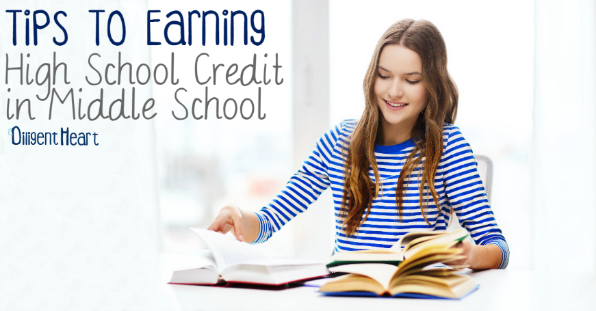 Tips To Earning High School Credit In Middle School