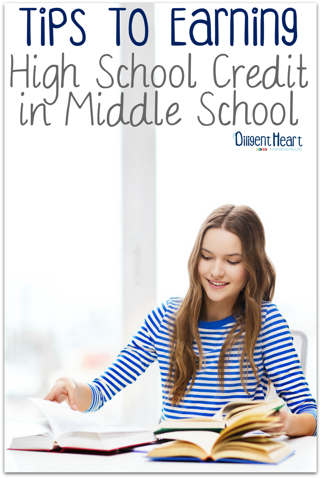 So you want your middle schooler to start earning high school credit. Or, maybe your middle schooler has asked if they can. But, you're not sure how that works or even how to know if it's doable. It's very simple, probably more than you think, I promise. In this post, I'm sharing a few things to help you get going in the right direction.
