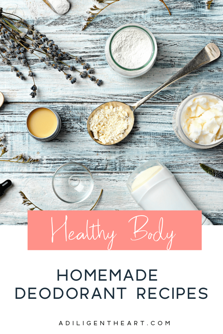 Here are 5 homemade deodorant recipes if you want to give them a try. My recipe – that doesn't irritate us and is strong enough for my active husband – is ...