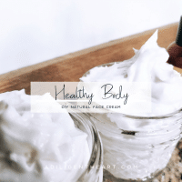 DIY Natural Face Cream