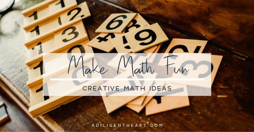 Creative Math Ideas For Younger Kids