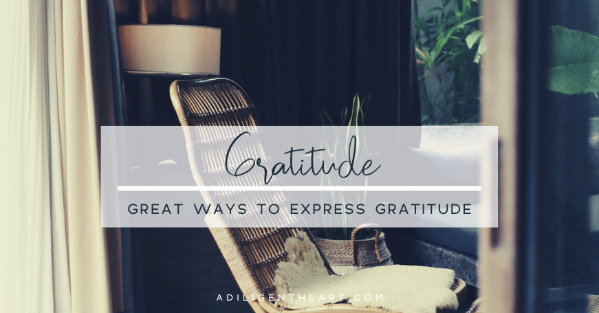 Great Ways to Express Gratitude