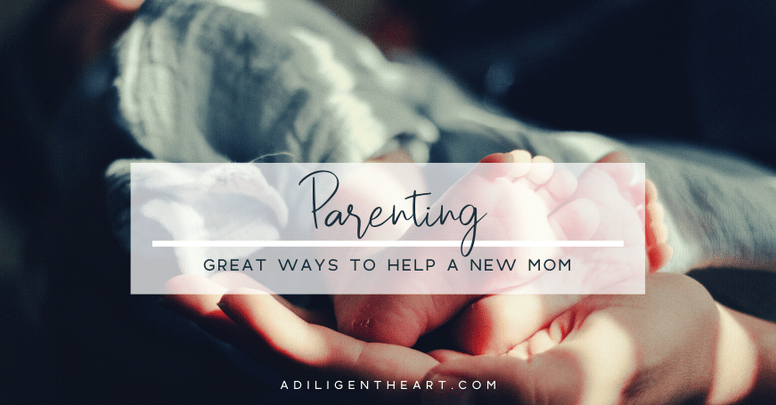 Great Ways to Help a New Mom