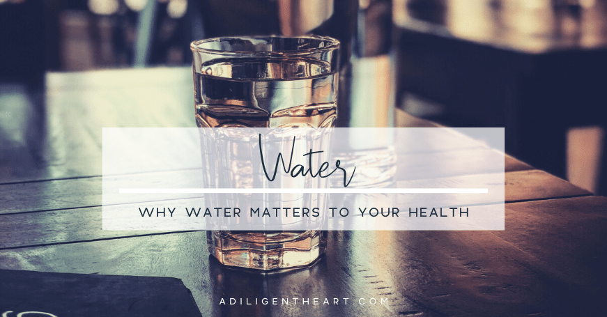 Why Water Matters to Your Health