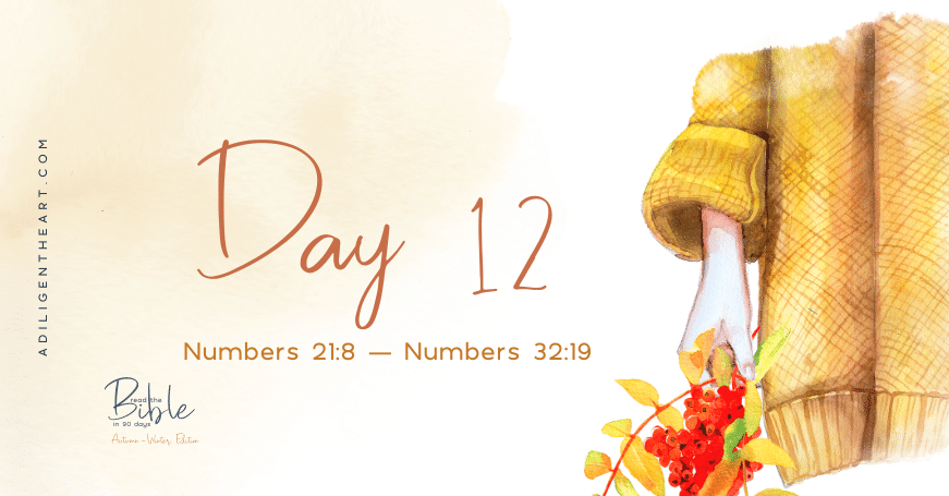 Day 12: Read The Bible In 90 Days
