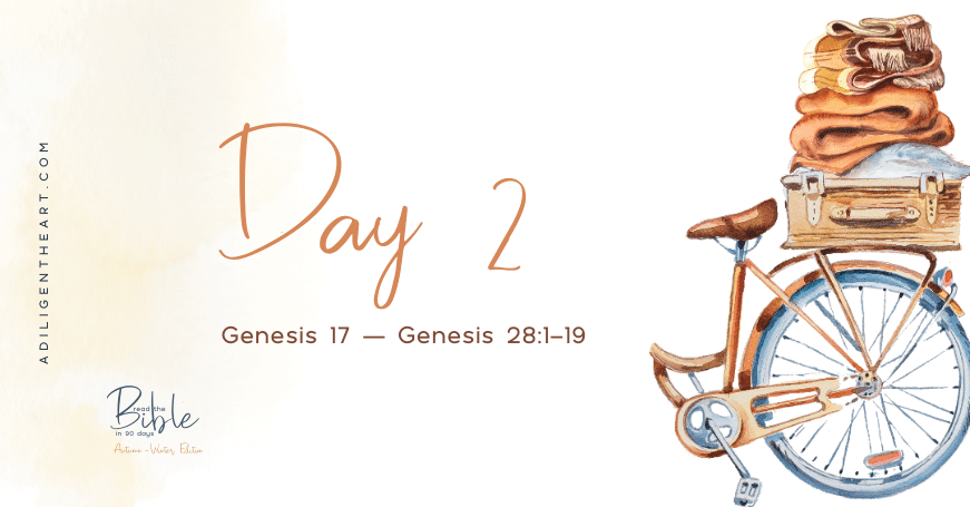 Day 2: Read The Bible In 90 Days