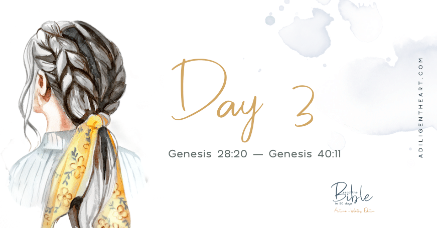Day 3: Read The Bible In 90 Days